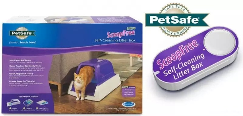 the scoopfree ultra litter box u0026 dash button from petsafe are the perfect choices for your home and felines youu0027ll enjoy a home thatu0027s - Scoopfree Litter Box
