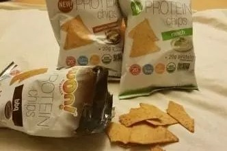 iWon Organic Chips & Crackers Review