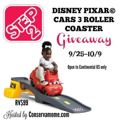 Disney Pixar Cars 3 Roller Coaster Giveaway