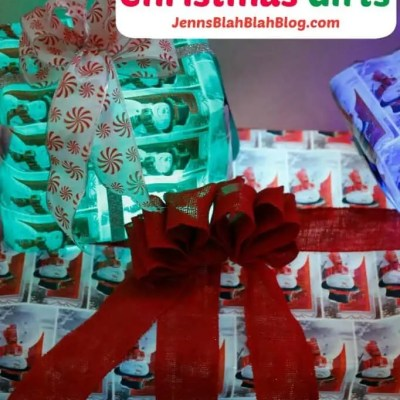 DIY Light Up Christmas Gift Decorations
