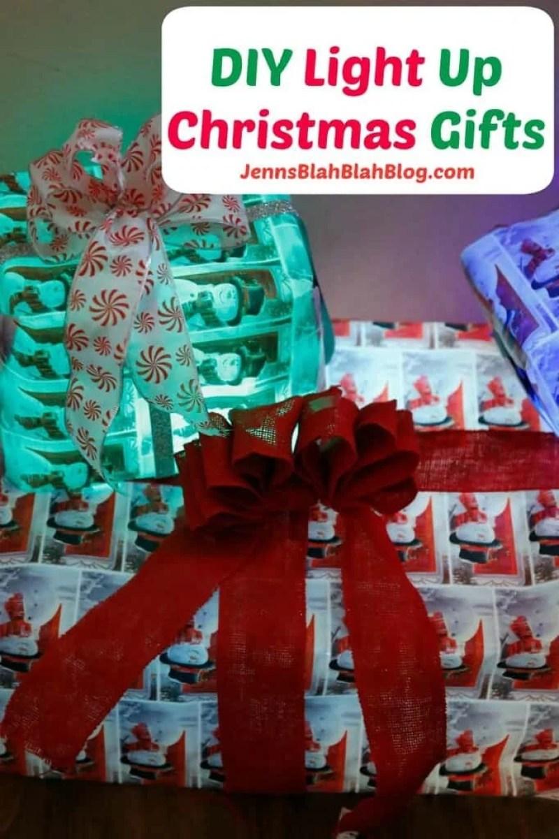 DIY Light UP Christmas Gifts