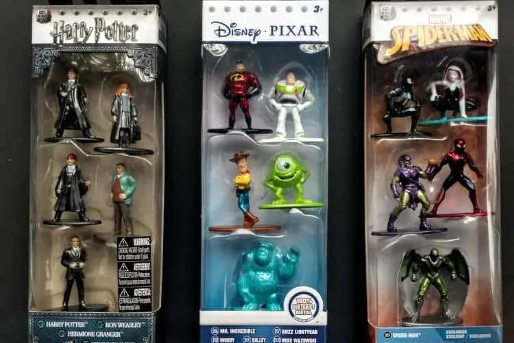 Expand Any Action Figure Collection with Nano Metalfigs from Jada Toys