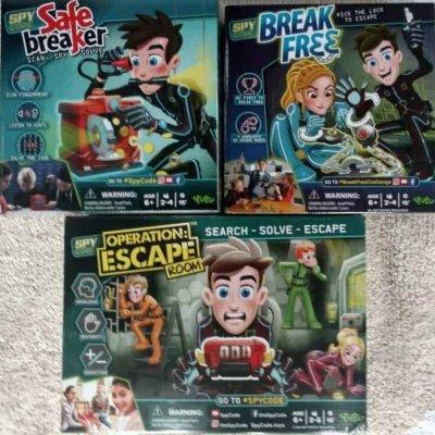 YULU Spy Code Games: Break Free – Operation Escape – Safe Breaker #giftguide