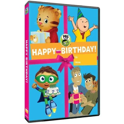 PBS Kids: Happy Birthday DVD Review #HolidayGiftGuide