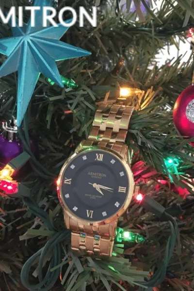Give Him the Gift of Time with Armitron #GiftGuide