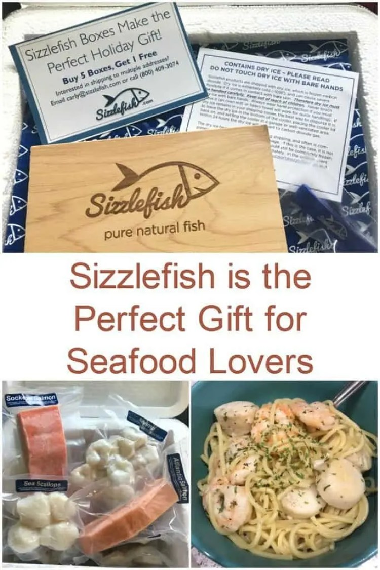 Sizzlefish is the Perfect Gift for Seafood Lovers + Giveaway #GiftGuide