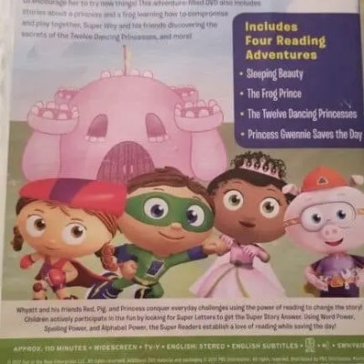 PBS Super Why?: Sleeping Beauty DVD Review #GiftGuide