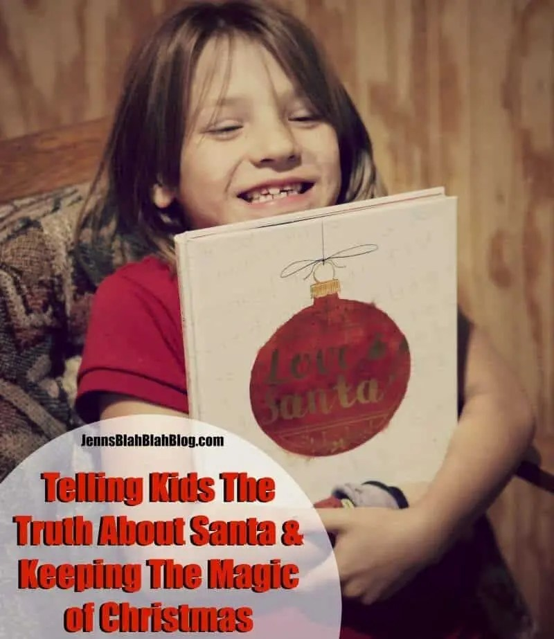 Telling Kids The Truth About Santa & Keeping The Magic of Christmas