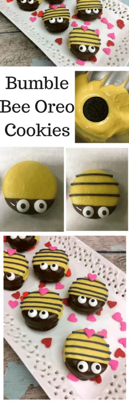 Bumble Bee Oreo Cookies