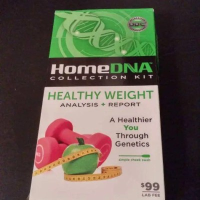 Optimize your Health and Well-Being with HomeDNA™ Healthy Weight