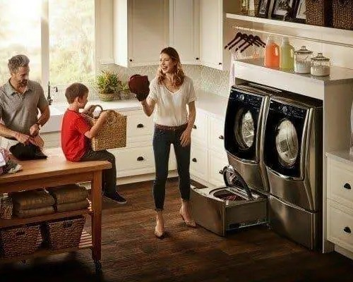 Save Up to $500 with Select LG Laundry Packages