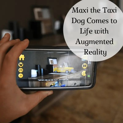 Maxi the Taxi Dog Comes to Life with Augmented Reality + Enter to Win a Trip to NYC