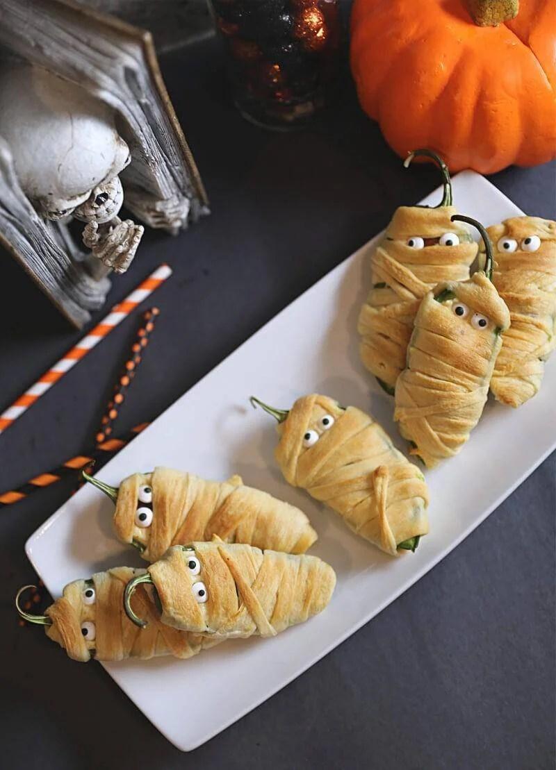 Mummy Jalapeno Poppers with Lit'l Smokies