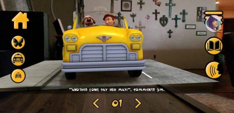 Maxi the Taxi Dog AR