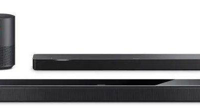 Bose Home Soundbar & Base Module with Amazon Alexia
