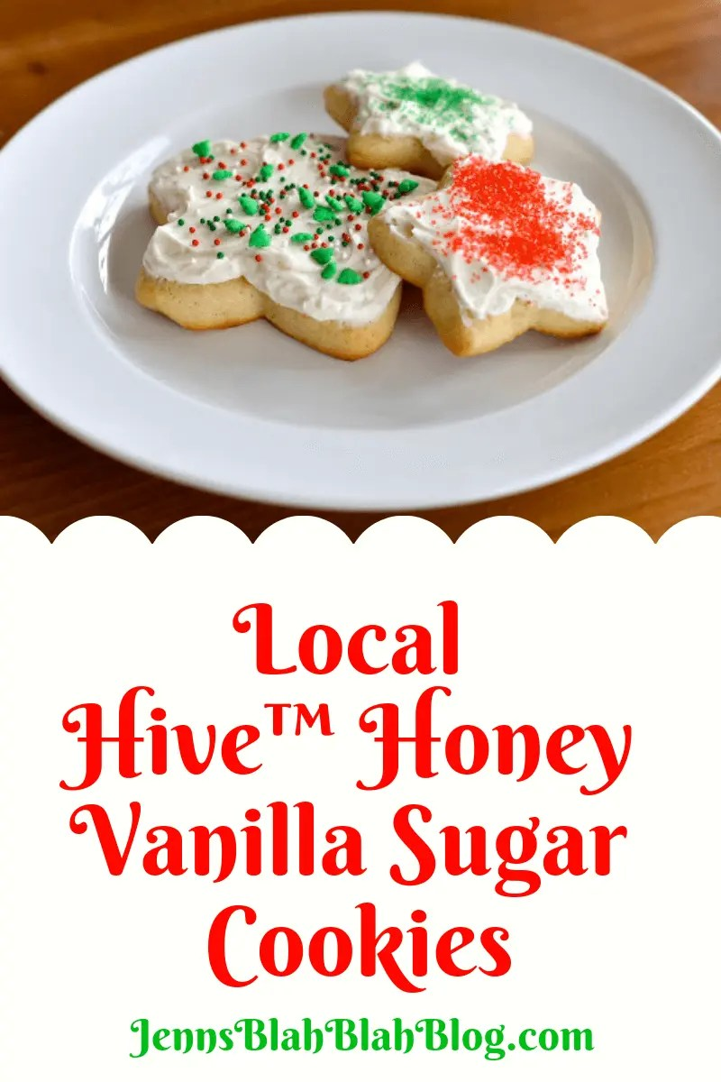 Local Hive™ Honey Vanilla Sugar Cookies