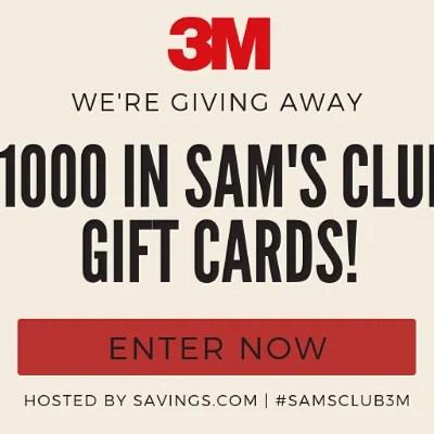 Sams club giveaway