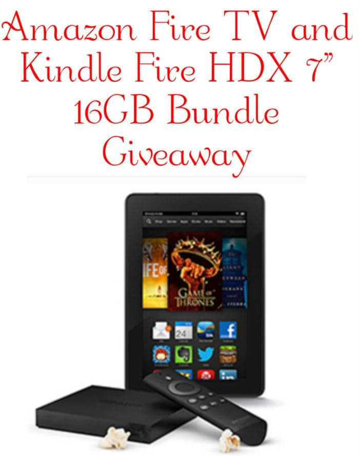 amazon tv giveaway amazon fire tv and kindle fire hdx 7 quot 16gb bundle 1183