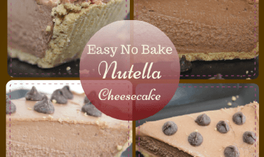 Super Easy Nutella No-Bake Cheesecake Recipe
