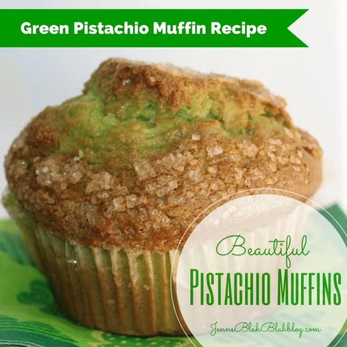 Saint Patrick's Day Recipe: Green Pistachio Muffin Recipe