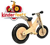 Kinderfeets Award-Winning Wooden Pushbike With Chalkboard Finish! #GiftGuide