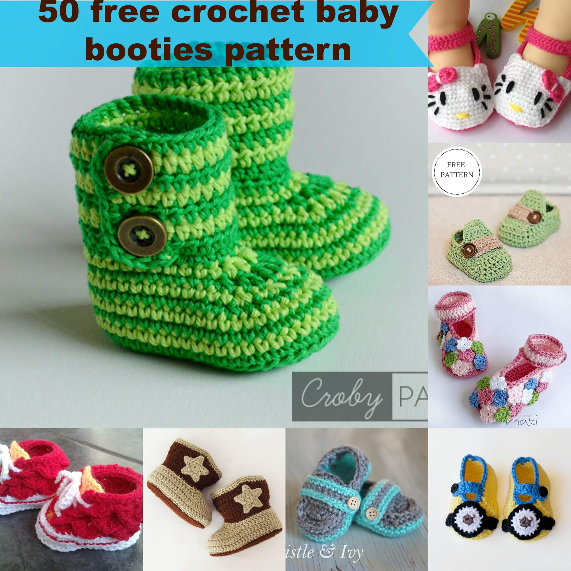 crochet baby booties diagram baldor three phase motor wiring 50 free pattern by jennyandteddy