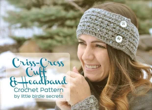 20 Free And Easy Crochet Headband Patterns