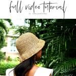 Basic Bucket Hat Free Crochet Pattern Jennyandteddy