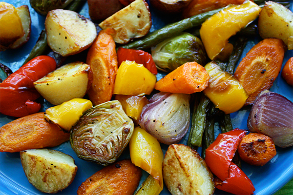 Image result for roasted vegetables pictures