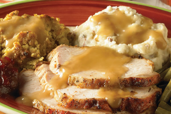 Top Turkey Potatoes Picture Mashed Gravy And