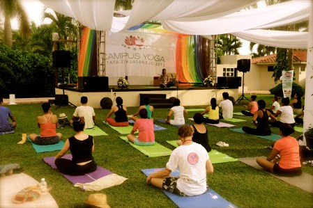 lifestyle campus yoga Mexico