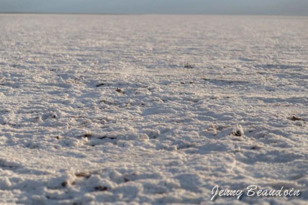 Background salt in Badwater