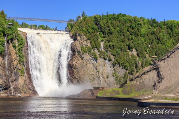 Chute Montmorency in Quebec