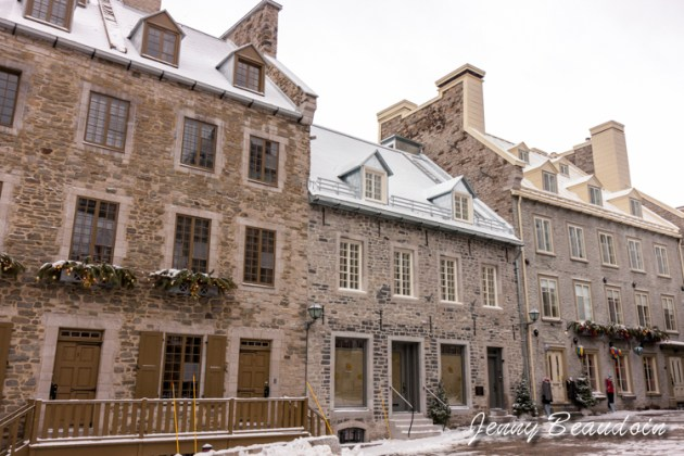 Place Royale in Old Town Quebec
