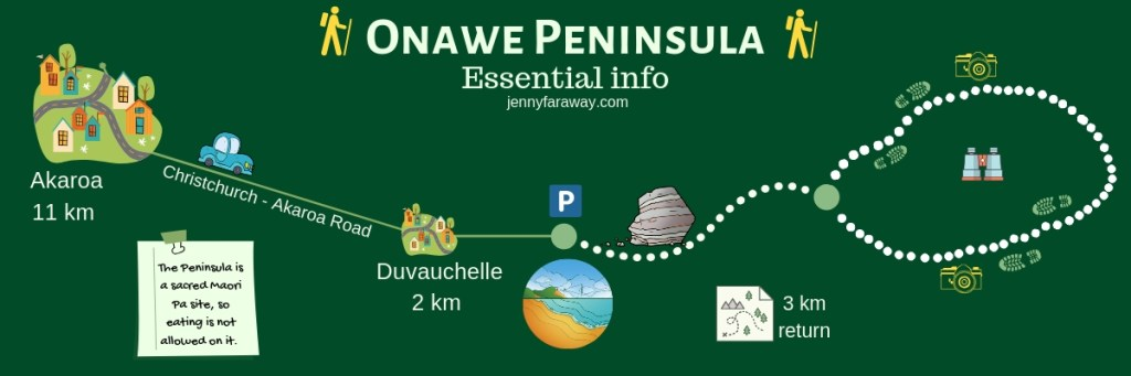 Infographic Guide to the Onawe Peninsula