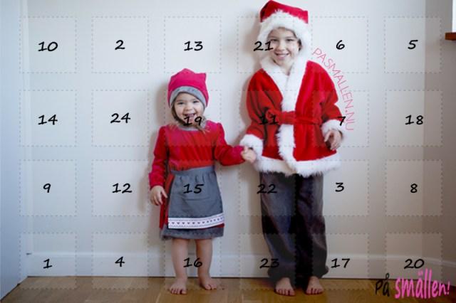 Julkalender Julkalendrar