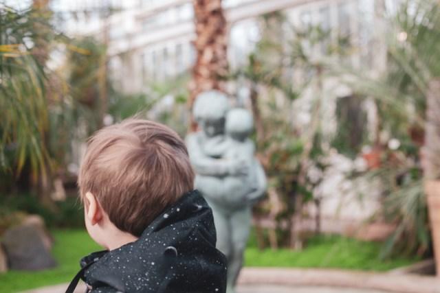 saker att hitta på med barn i Göteborg palmhuset