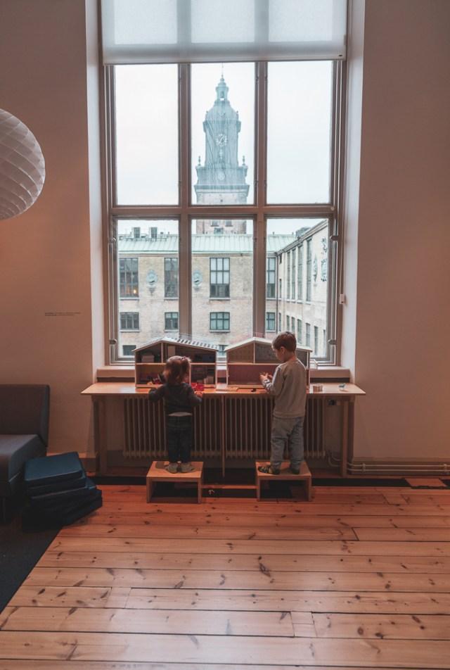 saker att hitta på med barn i Göteborg stadsmuseet