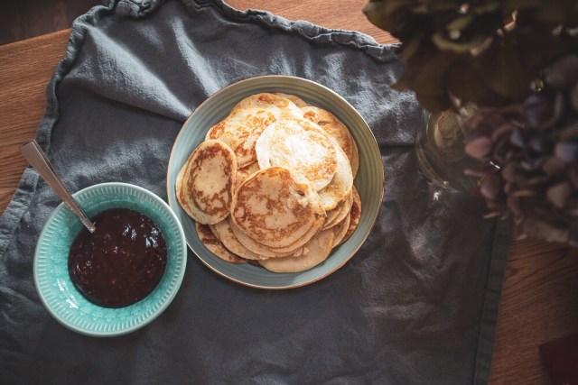 Goda plättar med smak av vanilj