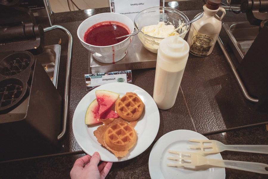 selma lagerlöf hotell frukostbuffé