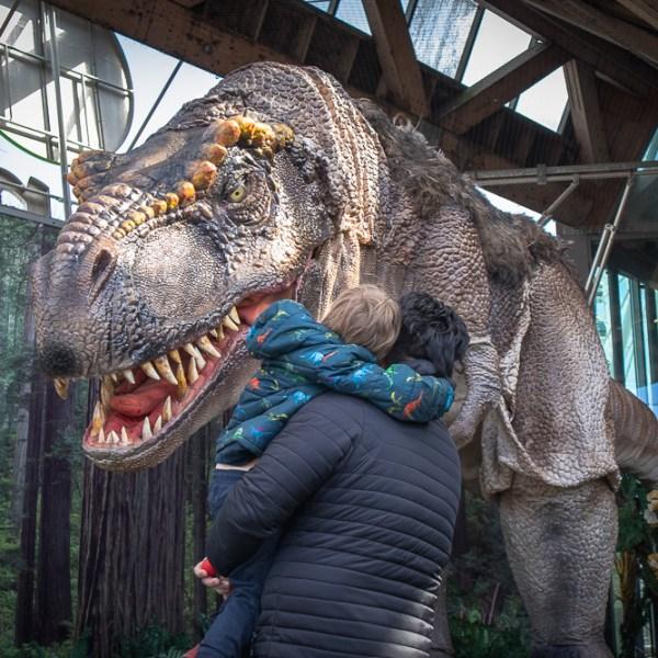 dinosaurier på universeum