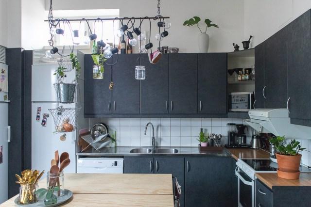 Städa köket efter