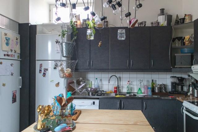 Städa köket före