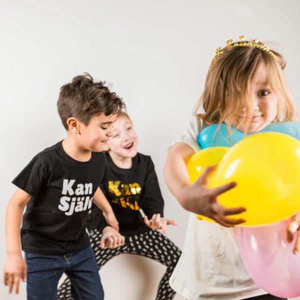 kan själv, barn, barnkläder, ballonger, ekologiskt, fairtrade
