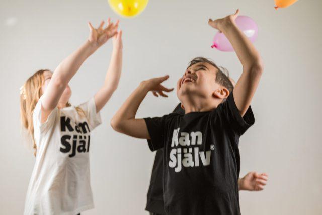 Kan Själv, t-shirt,ballonger