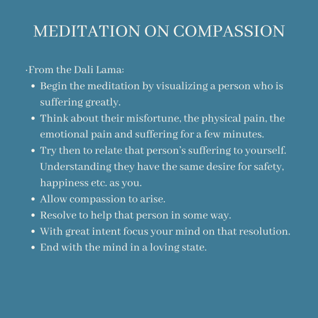 Meditation on Compassion