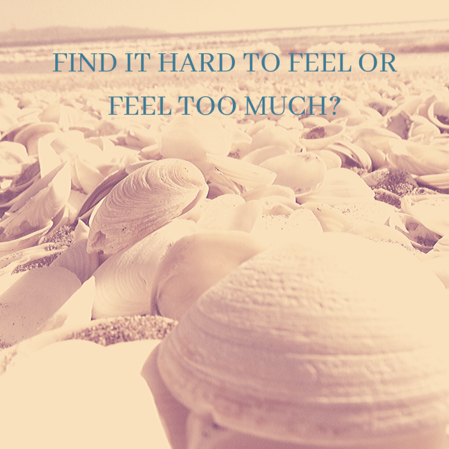 Find it Hard to Feel or Feel too much