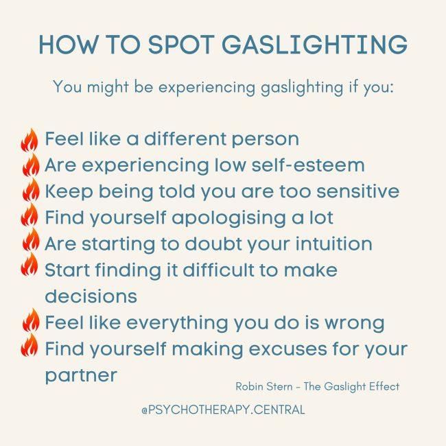 How To Spot Gaslighting