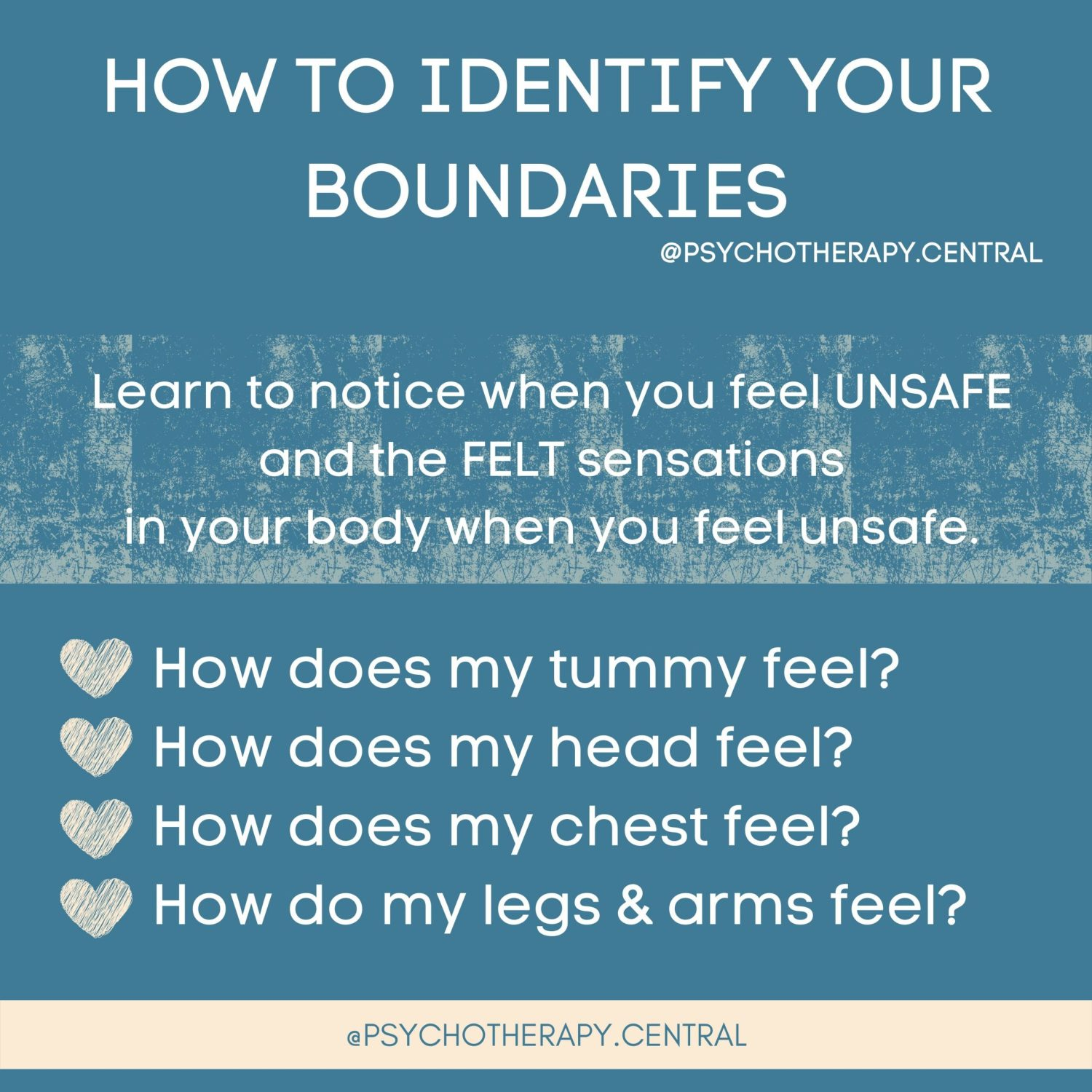 How to Identify Your Boundaries
