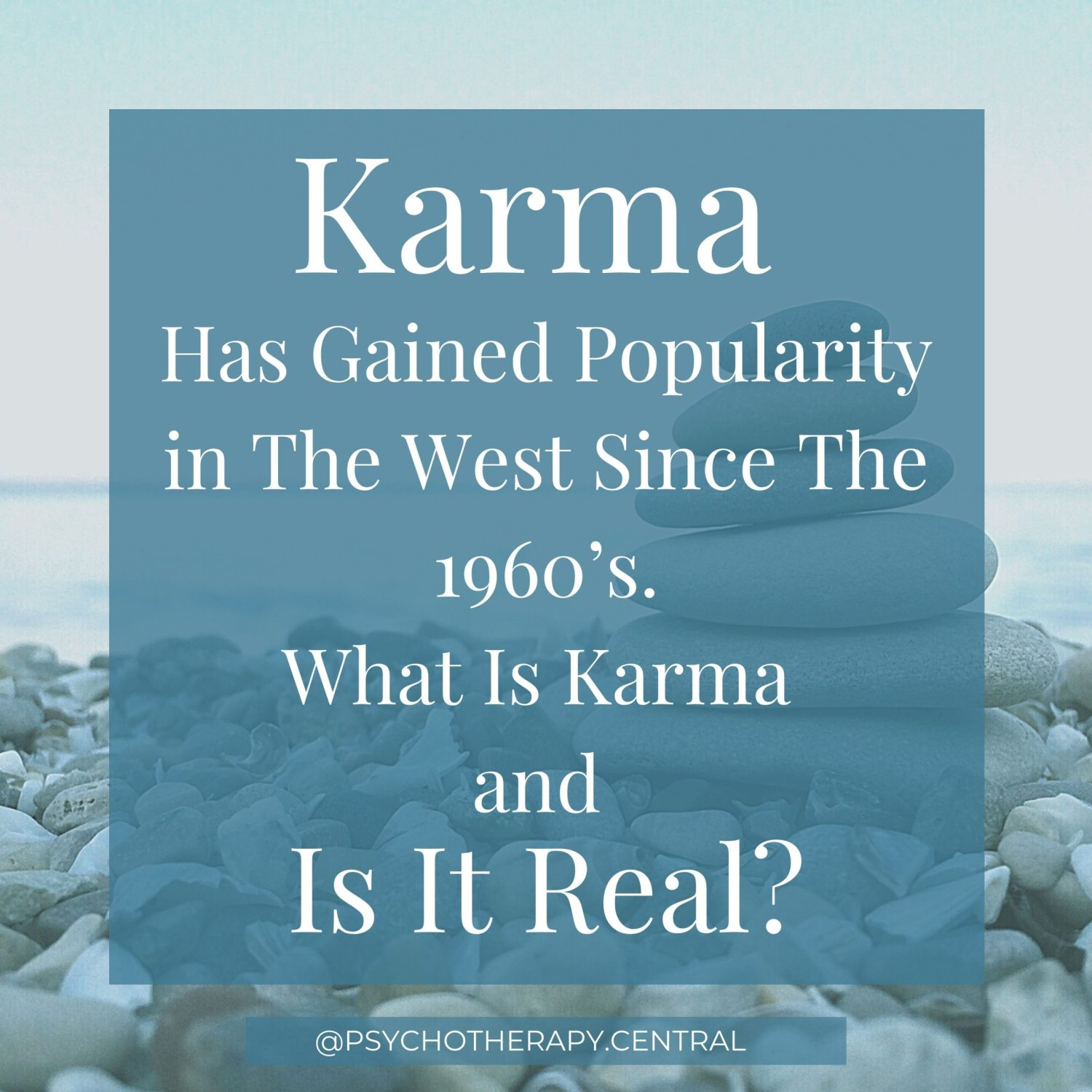 Here are some of my musings about karma as an idea. I have been thinking about this a lot recently and would love to hear your thoughts. Disclaimer: I don't have a feeling about whether it is good or bad, I just wanted to explore it as a popular world view. As a therapist, world views come up a lot to explore, and I was keen to hear your thoughts. Does the idea of karma form part of your world view? Is it helpful to you?